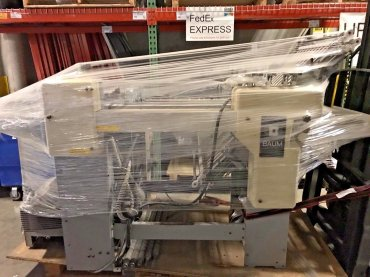 Baum 2018 Pile Feed Paper Folder w/ 8 Page Right Angle Unit, MODEL: 1318C-2-P-2    $5,995.00 US Dollars