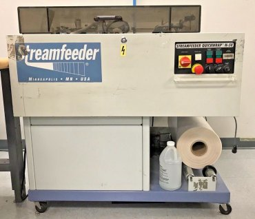 2003 - Streamfeeder Quickwrap H-50, REH, Polybag System $3,495.00 US dollars