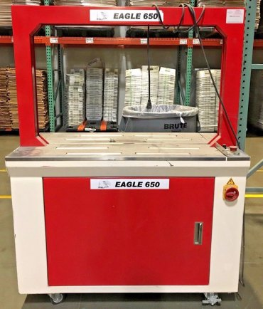 Eagle 650 Automatic Strapping Machine,   $2,295.00 US dollars    SOLD