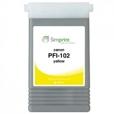 Yellow##130 ml##Dye##PFI-102Y